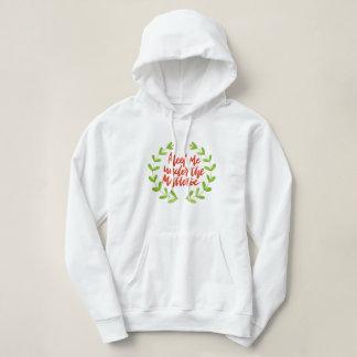 Möt mig under mistletoen - julkran t-shirt