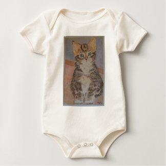 Möt Nelson, en toppen gullig kattungedesign Body