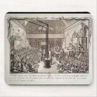 Möte av den Jacobin klubben, Januari 1792 Musmattor