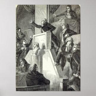Möte av nationalförsamlingen, 1791 poster