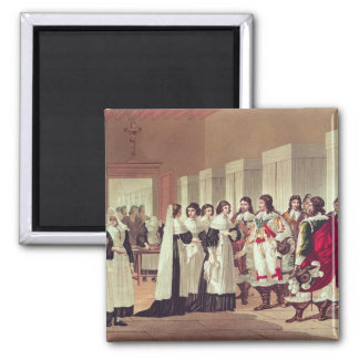Möte mellan Louis XIII Magnet