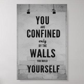 Motivational affisch