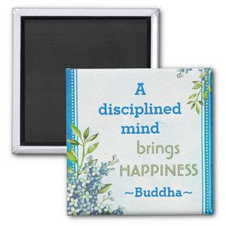 Motivational citationstecken för Buddha lycka Magnet