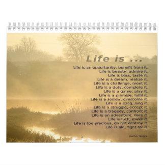 Motivational kalender 2014