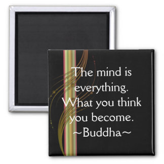 Motivational magnet för Buddha Quotation~