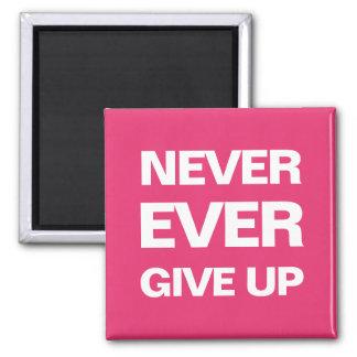 Motivational modern djärv magnet för rosa qoute