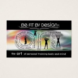 Motivational personligt utbildningskort visitkort