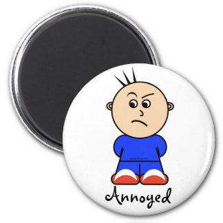 """Moto """"förargade"""" magneten magnet rund 5.7 cm"""