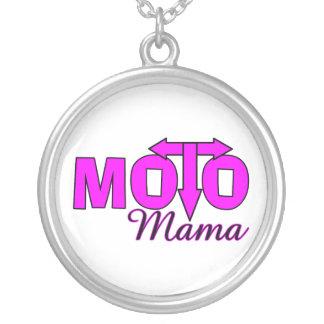 Moto mammor silverpläterat halsband