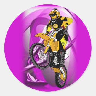 Motocross 405 runt klistermärke
