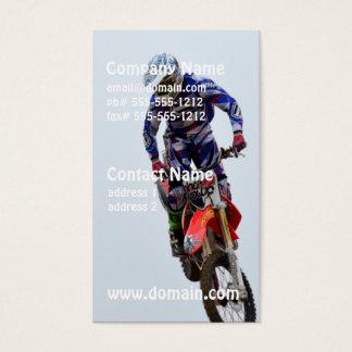 Motocross Visitkort