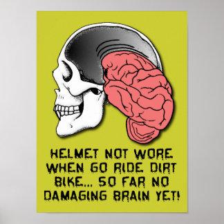 Motocrossen för cykeln för smuts för poster