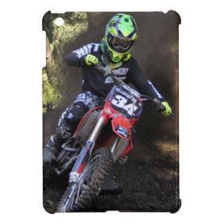 Motocrossryttare som river upp spåra iPad mini mobil skydd