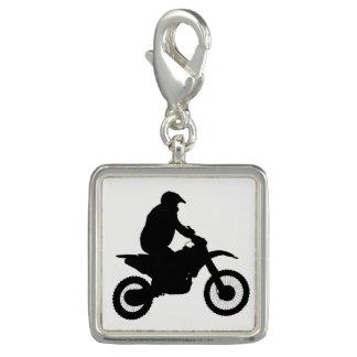 MotocrossSilhouette Foto Berlock