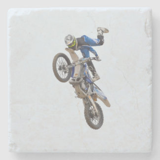 Motocrossytterlighettrick Underlägg Sten