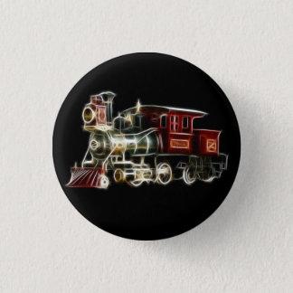 Motor för ångatåglokomotiv mini knapp rund 3.2 cm