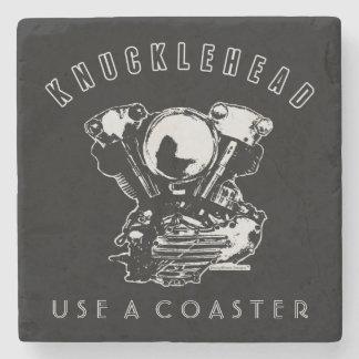 Motor för motorcykel för vintageHarley Knucklehead Underlägg Sten