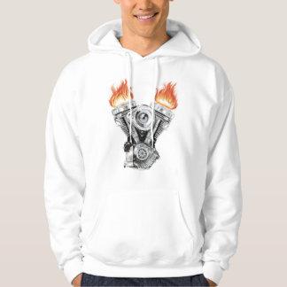 Motor Sweatshirt Med Luva