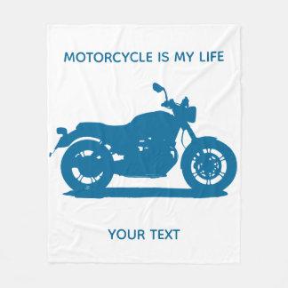 Motorcykel Fleecefilt