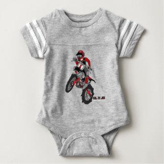 Motorcykel för baby t-shirts