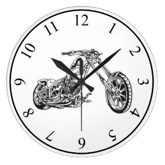 Motorcykel Stor Klocka