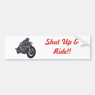 motorcykelbildekal bildekal