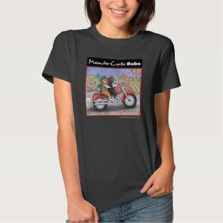 Motorcykelkatter bötfäller den Jersey T-tröja Tee