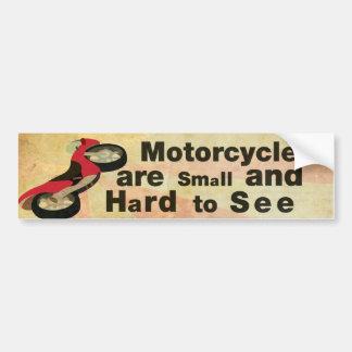 Motorcykelmedvetenhet Bildekal