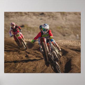 MotorcykelMotocross Poster