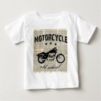 Motorcykelold school tee shirt