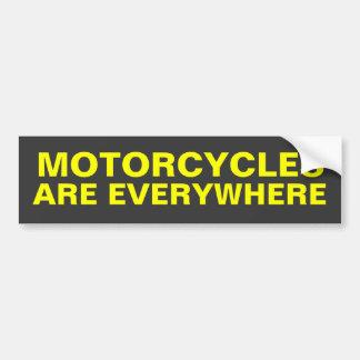 Motorcyklar är överallt bildekalet bildekal