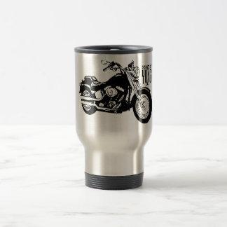 Motorcyklar Rostfritt Stål Resemugg