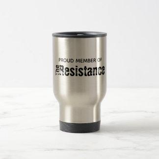 Motståndsrostfritt stål 15 uns travel mug resemugg