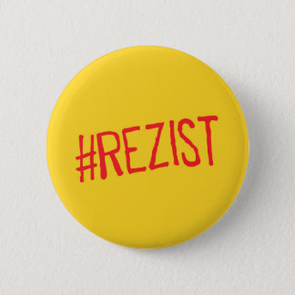 motstår den politiska slogan för rezistrumänien standard knapp rund 5.7 cm