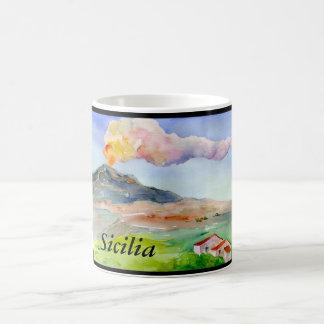 Mount Etna Sicilia Kaffemugg