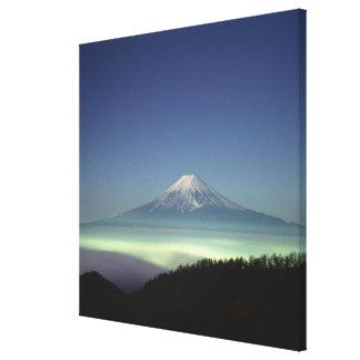 Mount Fuji Canvastryck