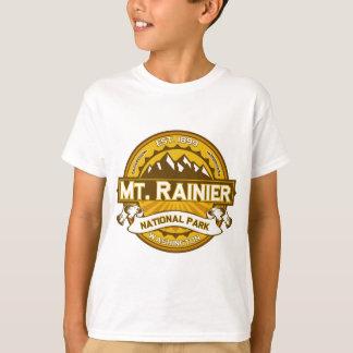 Mount Rainier Goldenrod Tee Shirts