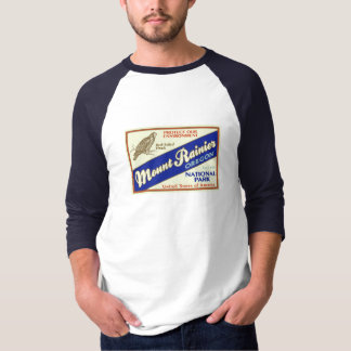 Mount Rainier nationalpark (höken) T Shirts