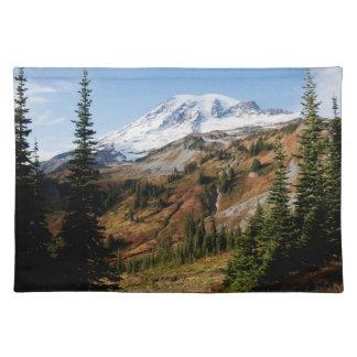 Mount Rainier nationalpark, höst Bordstablett