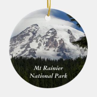 Mount Rainier nationalpark Julgransprydnad Keramik