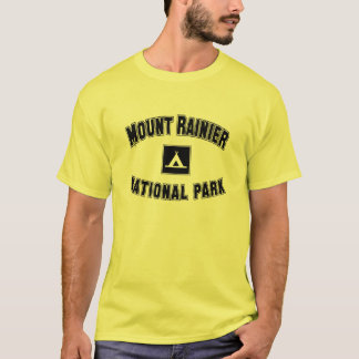 Mount Rainier nationalpark T Shirts