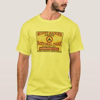 Mount Rainier nationalpark Tee Shirt