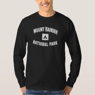 Mount Rainier nationalpark Tee Shirts