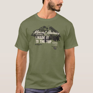 Mount Rainier nationalpark Washington IMITTT T Shirt