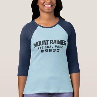Mount Rainier nationalparkkvinna skjorta för Tee Shirt