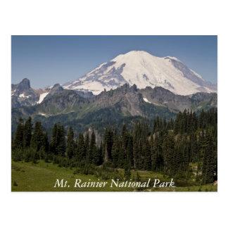 Mount Rainier nationalparkvykort Vykort