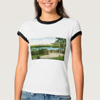 Mount Rainier och sjö Washington T-shirts