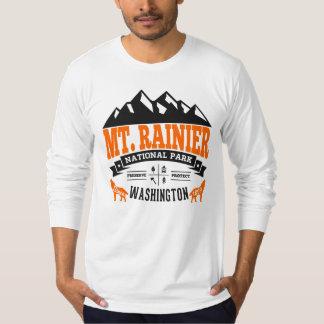 Mount Rainier vintageorange T-shirt