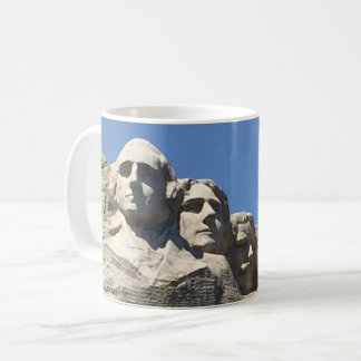 Mount Rushmore presidents- medborgaremonument Kaffemugg