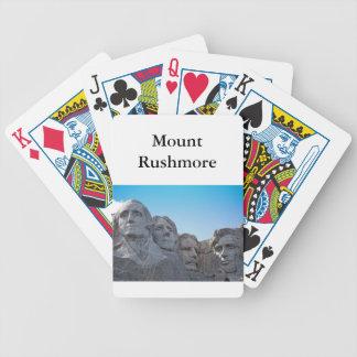 Mount Rushmore samling Spelkort